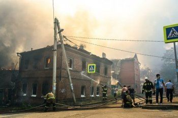 Пострадавшим при пожаре в Ростове-на-Дону выделят около 600 млн рублей