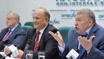 Парламентские партии предложили администрации президента провести партийную реформу
