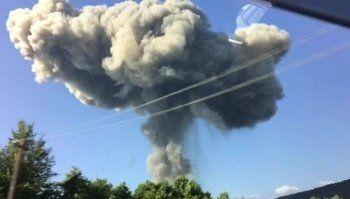 Две россиянки погибли при взрыве на складе боеприпасов в Абхазии