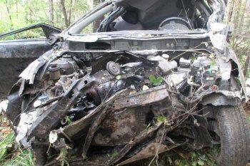 Под Нижним Тагилом Hyundai улетел в кювет. Женщина-водитель погибла