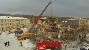 Пять человек погибли при обрушении жилого дома в Хабаровске