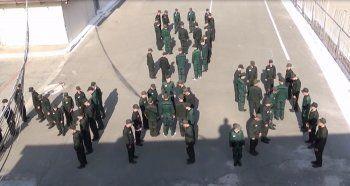 Уральские заключённые устроили флэшмоб ко Дню Победы (ВИДЕО)