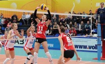 «Уралочка» уступила «Заречью» в последней домашней игре уходящего года