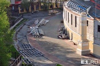 В Екатеринбурге начали разбирать Центральный стадион