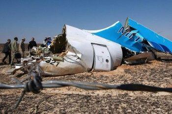 СМИ: на разбившемся в Египте российском самолёте была установлена часовая бомба