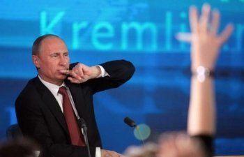 Большая пресс-конференция Владимира Путина. Онлайн АН «Между строк»