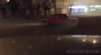 В Нижнем Тагиле пойман автогонщик, устроивший дрифт на Вагонке (ВИДЕО)