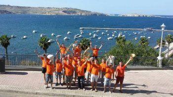 Музыканты из Нижнего Тагила в честь Путина спели на Мальте «Калинку-Малинку» (ВИДЕО)