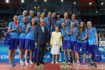 Россиянки выиграли Кубок Ельцина по волейболу