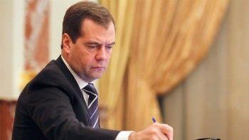 Медведев отменил сборы на экспорт товаров дешевле 200 евро