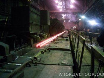 ЕВРАЗ НТМК поставил балки для строительства депо «Саларьево» Московского метрополитена