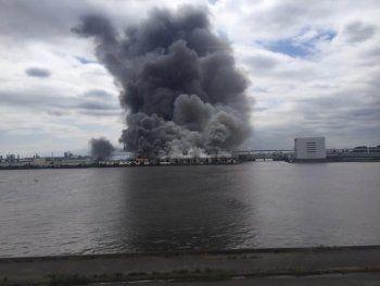 В Японии на заводе прогремел взрыв (ВИДЕО)