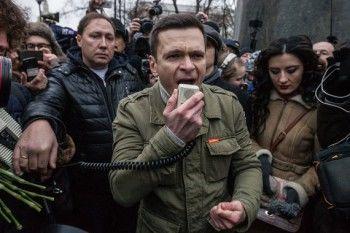 Московская полиция задержала депутата Илью Яшина