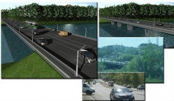Мост на Фрунзе будут строить те же, кто делал площадь Славы. Чиновники в шоке!