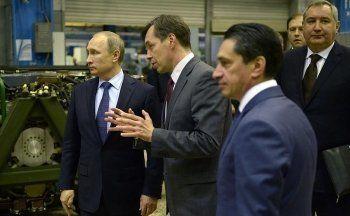 Путину в Нижнем Тагиле показали «Армату»