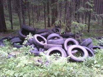 Тагильских чиновников обязали ликвидировать кладбище автопокрышек