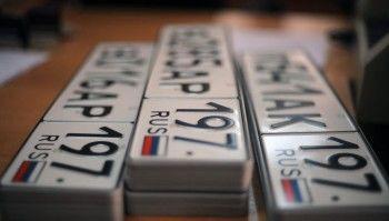 В Госдуме призвали запретить автомобильные номера серии «В***ОР»