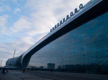 Самолёт с пассажирами загорелся в Домодедово