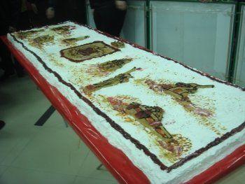 В Нижнем Тагиле съели в День народного единства рекордный торт