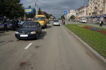 В Нижнем Тагиле автоледи на пешеходном переходе сбила пенсионерку
