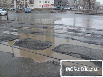 До конца весны в Нижнем Тагиле должны отремонтировать 21 дорогу
