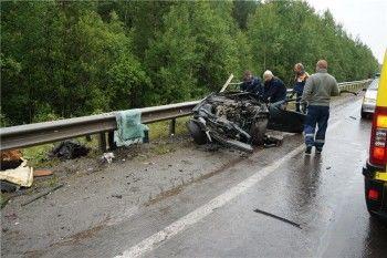 В аварии на трассе, где погибла семья, виновата дорога