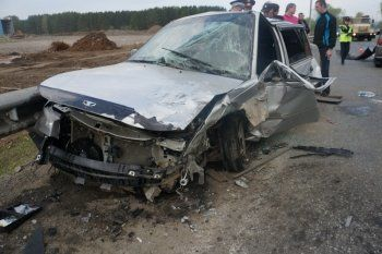 В ДТП под Старателем пострадало три автомобиля (ВИДЕО, ФОТО)