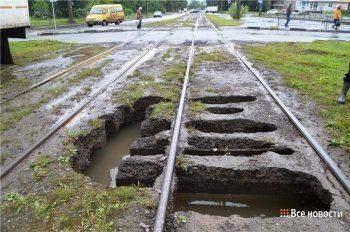 В Дзержинском районе Нижнего Тагила парализовано трамвайное движение