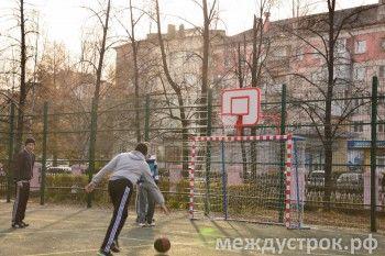 Студентам НТГМК, чиновникам мэрии и общественникам теперь есть, где поиграть «в мяч»