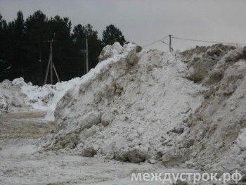 Дорожники отчитываются о собранном снеге