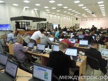 Выступление Медведева на «Иннопроме» прошло мимо журналистов (ВИДЕО)