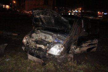 В Нижнем Тагиле мужчина разбился на машине после ссоры с женой