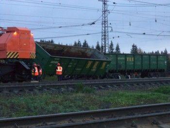 В Свердловской области сошли с рельсов вагоны