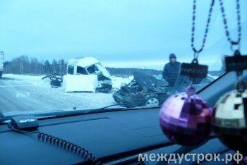 ДТП на Серовском тракте: пострадали три человека, три автомобиля разбиты (ФОТО)