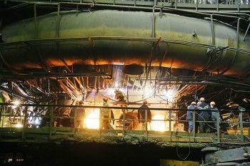 Капитальный ремонт на тагильском заводе
