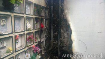 Череда происшествий в тагильском колумбарии. Как вандалы проникают на закрытое кладбище (ФОТО)