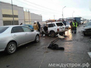 Подробности аварии на Восточном шоссе (ВИДЕО)