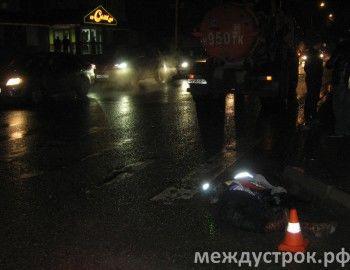 В Нижнем Тагиле грузовик насмерть сбил пожилую женщину (ВИДЕО)