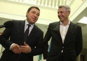 Сергей Носов и Евгений Куйвашев улетели в Москву. Будет возможность задать вопросы президенту