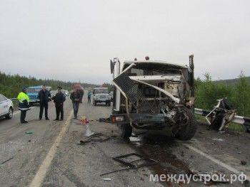 В сети появилась запись лобового столкновение МАЗа и автобуса (ВИДЕО)