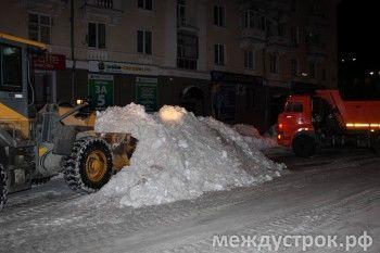 Уборка городских улиц