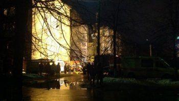 В Ярославле из-за взрыва газа обрушился подъезд пятиэтажки