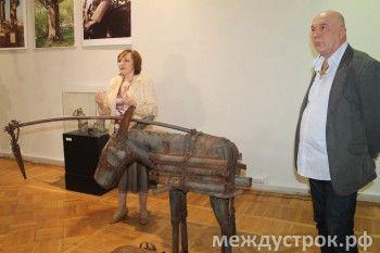Музей ИЗО презентовал выставку известного тагильского скульптора