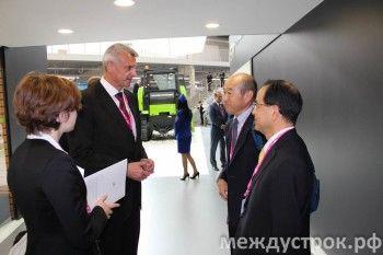 Сергей Носов объяснил, зачем китайцы приехали на «Иннопром»
