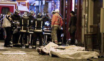 До 150 человек погибли в террористической атаке во Франции