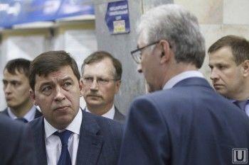 Евгений Куйвашев вступился за Александра Якоба: «Необходимо дистанцироваться от политического противостояния, амбиций и взаимных претензий»