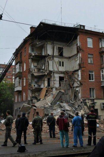 В Перми обрушился жилой дом, есть пострадавшие