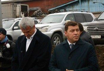 Носов впервые приехал на совещание к Куйвашеву