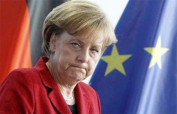 Меркель довела ребёнка до слез (ВИДЕО)