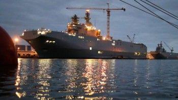 Россия получит от Франции меньше одного миллиарда за расторжение контракта по «Мистралям»